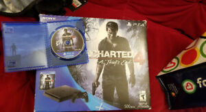 Ps4 slim + uncharted 4