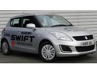 Suzuki Swift 1.2 SZ2 Petrol Manual 5 Door Hatchback Silver 2015