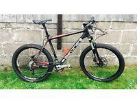 Nice Carbon Fibre Mountain Bike , XT, Thomson Elite