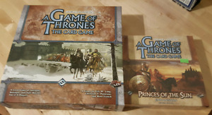 A Game of Thrones the Card Game + Expansion