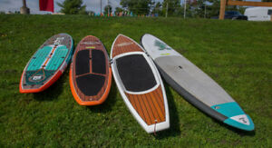 Composite and inflateble  SUP's from Liv Outside
