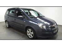 2007(57)VAUXHALL ZAFIRA 1.8 CLUB MET BLUE,7 SEATER,LOW MILES,CLEAN CAR,GREAT VALUE