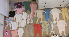 Baby girl clothes 3-6 months bundle - 140 items. Boden J Lewis