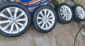 """VW PASSAT LONDON ALLOYS WHEELS 17"""""""