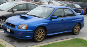 Looking for a WRX or STi