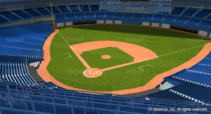 Toronto Blue Jays Tickets Today BEHIND HOME!