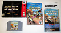 Star Wars Episode One Racer N64 Complete in box