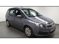 2007(07)VAUXHALL ZAFIRA 1.6 LIFE MET GREY,7 SEATER,VERY LOW MILES,CLEAN CAR,GREAT VALUE
