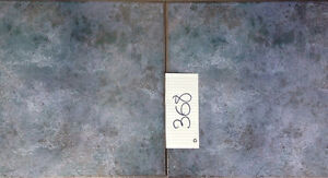"""16"""" by 16"""" Grey/Blue Ceramic Tiles made in Italy"""