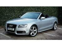 2012 Audi A5 3.0 TDI QUATTRO S LINE 2DR SEMI AUTOMATIC Convertible Diesel Automa