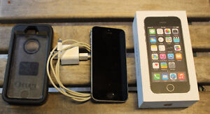 Apple iPhone 5s 16GB Space Grey Bell Virgin GODERICH