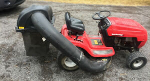 Yard Machines  Garden Tractor with rear Bagger