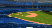 Blue Jays vs Rangers - ALDS Game 1 - October 8th - Section 214