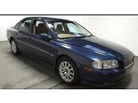2002(52)VOLVO S80 D5 S 2.4 DIESEL MET BLUE,CLEAN CAR,BIG MPG,TOW HITCH,GREAT VALUE
