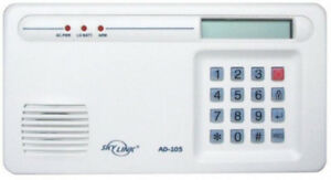 SKYLINK AD-105 DIAL SECURITY ALERT EMERGENCY VOICE PHONE DIALER,