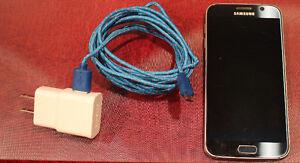 Samsung Galaxy S6 SM-G920W8 32GB Black Sapphire Bell Virgin Stratford Kitchener Area image 1