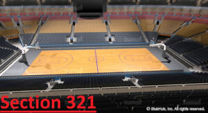 Toronto Raptors Tickets (All Games) - S321 Row 7 & 8