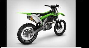 2016-2017 Kawasaki KX450F FMF Ti Full Exhaust System