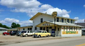 HOTEL/TAVERN/OFF SALE ~ GREAT OPPORTUNITY FOR YOU!