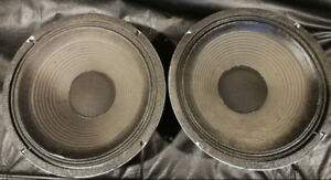 """Two Celestion G12M-70, 12"""", 4 ohm speakers in excellent working"""