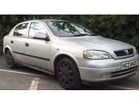 2001 Vauxhall Astra 1.6**LONG MOT**LOW MILEAGE**