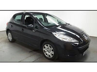 2011 PEUGEOT 207 1.4 S BLACK,5DR,CLEAN CAR,GREAT VALUE