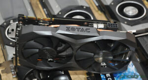 Carte graphique Zotac GTX 1070 Ti 8 GB Mini