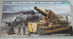 Trumpeter 1/35 Morser Karl-Great 040/041 railway gun