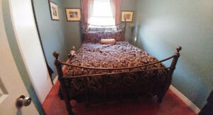 BOMBAY COMPANY FINLEY QUEEN BED $400.00