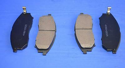 Brake Pads Front (4) for Nissan Navara Pickup D40 2.5td (17