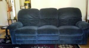 Royal Blue Couch