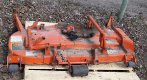 Kubota pto driven mower for under tractor