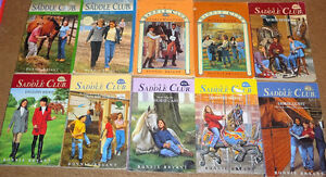 Saddle Club- Scet of 18 Chapter books