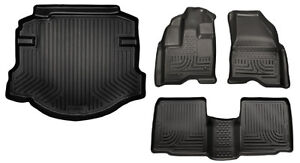 FLOOR MATS + Trunk HUSKY LINERS TAPIS FORD TAURUS/ LINCOLN