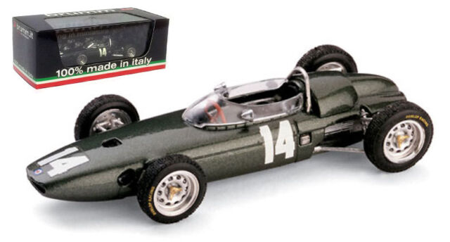 Brumm R323 BRM P57 #14 Italian GP 1962 - Graham Hill World Champion 1/43 Scale