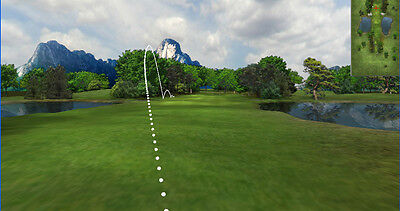 "NEW ProScreens 144"" x 108"" HD Golf Simulator Impact Screen REAL GOLF BALLS - USA"