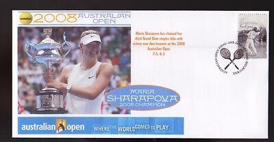 MARIA SHARAPOVA 2008 AUSTRALIAN OPEN WIN TENNIS COVER 3
