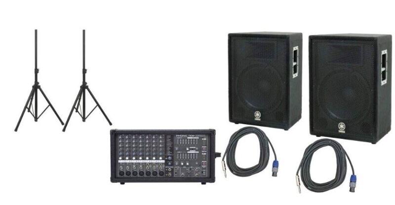 Yamaha PA System Phonic 780 / Yamaha A15 Speakers