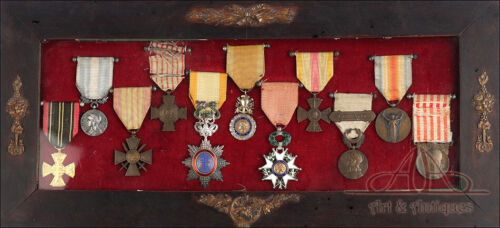 Medal Set of a French Combatant. Resistance Member. IWW and IIWW