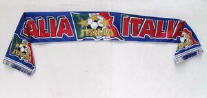 1 SCIARPA ITALIA IN DOPPIO TESSUTO POLIESTERE LAVORAZIONE A TUBOLARE CM.125 X 17