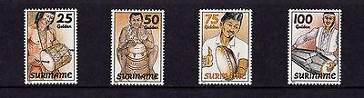 Surinam - 1994 Traditional Drums - U/M - SG 1580-3