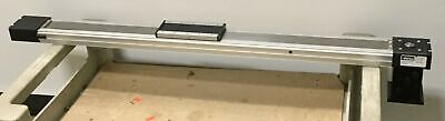 Parker Ball Screw Slide 650mm Travel Stage 156x68mm Input 16mm Wadapter Plate