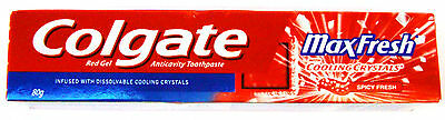 Colgate MaxFresh Tooth Paste :: 80 GM :: Spicy Fresh :: Cooling Crystals