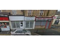 burnley colne road suit beautician to let