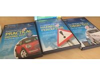 The OFFICIAL DSA Complete LEARNER PACK DVDs - theory test, hazard perception, practical driving test