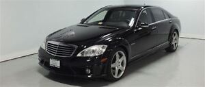 2009 Mercedes-Benz S-Class S63 -- AMG -- 507 H.P -- BLACK ON BLA