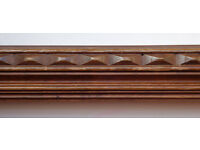 Decorative wooden moulding