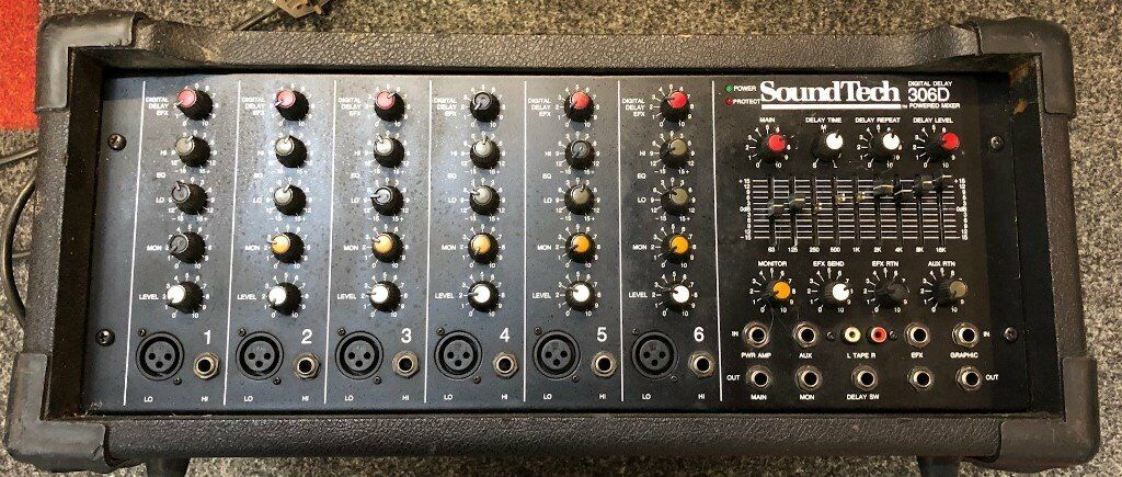 SOUNDTECH 306D MIXER AMP (SPARES OR REPAIR) | in Swindon, Wiltshire |  Gumtree
