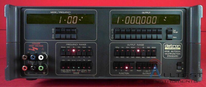 Datron 4708 -20-80 Multi-Function Calibrator