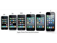 Apple iPhone3/4/4s/iphone5/5s smartphones unlocked (UK STOCK) full variety